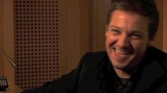 Jeremy Renner laughing by krolik. A collection of Jeremy's laughter.  Love this!!! - His laugh can get much louder an I love it!!!!!!!!!!!!!!