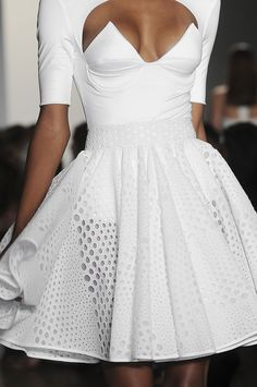 This is so cute. This is not a big boob dress :'(....not your average LWD (Little White Dress).