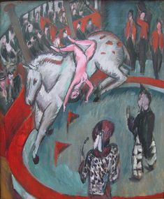 Ernst Ludwig Kirchner Zirkusreiterin 1913-1 - Expresionismo - Wikipedia, la enciclopedia libre