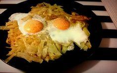 Τηγανίτες πατάτας με αυγά (3 μονάδες) | Diaitamonadwn.gr
