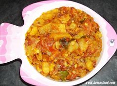 Sweet Potato Curry (Andhra) - Gluten Free, Vegan
