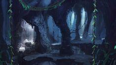 Znalezione obrazy dla zapytania cave background video game