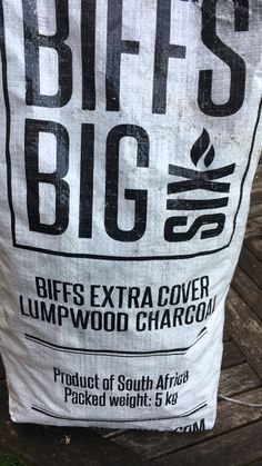 Proper South African charcoal available in the UK. Biff's (ex-Protea captain, Graeme Smith) new venture producing braai wood and charcoal now in the UK