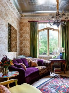 Cool Chic Style Attitude: Interiors   Bohemian by Bruce Buck/ The New York Times