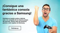 ¡Consigue una fantástica consola gracias a Samsung!