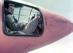 Chuck Yeager in the Bell X1.
