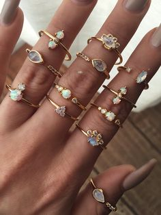 Opal and Diamond Allure Ring - Child of Wild - 4