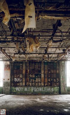 Detroit...urban decay in many American cities.  Glad to see many places revitalizing their cities...our own, Birmingham, AL seeing many improvements in last few years.