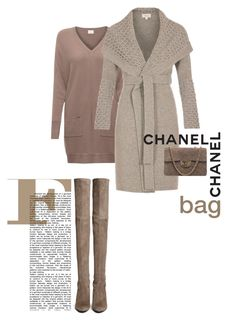 """""""Chanel Bag"""" by perlarara ❤ liked on Polyvore featuring EAST, Temperley London, Chanel, La Femme and Stuart Weitzman"""