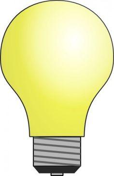 Clip Art Lightbulb Clip Art light bulb clip art free vector bulbs pinterest art
