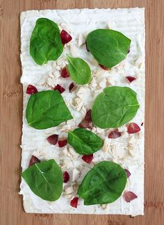Grape - Chicken - Spinach - Cream Cheese Pinwheel Sandwiches