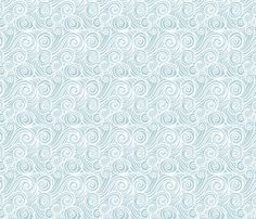 houle bleu blanc copie by nadja_petremand, click to purchase fabric