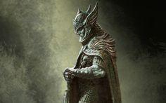 fantasy art artwork The Elder Scrolls V: Skyrim celtic Celtic Warrior  / 1920x1200 Wallpaper