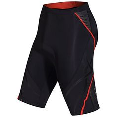 Women's Cycling Shorts - SANTIC Womens Cycling Shorts 3D Padded Bike Short UPF 50 *** Want additional info? Click on the image.