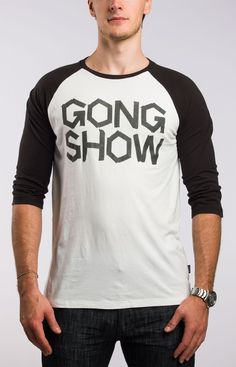 Taping It Mens White Hockey T-Shirts - Gongshow Gear - Lifestyle Hockey Apparel