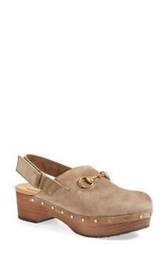 Gucci 'Amstel' Clog (Women) available at #Nordstrom