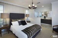 Discover our display homes across Perth & the South West. We've used our location smarts to ensure there's always a new home to explore close to you. Master Suite, Master Bedroom, Display Homes, Smart Home, Champion, New Homes, Furniture, Design, Home Decor