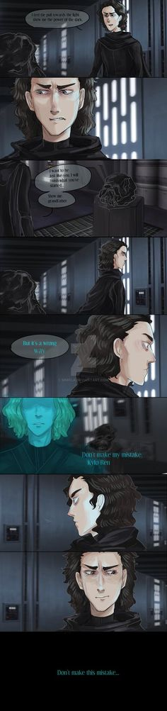 For Kylo Ren by Sn8fla on DeviantArt