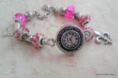 'European Style Beads Watch Bracelet' is going up for auction at  5pm Fri, Feb 22 with a starting bid of $10.