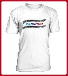 Querdenker Reifenspuren - Auto shirts (*Partner-Link)