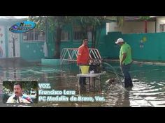 Fuertes lluvias inundan jardin de niños en Medellin