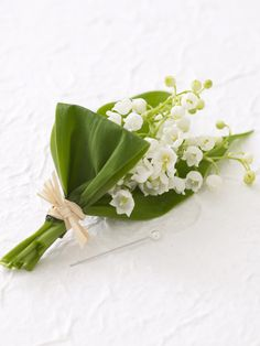 Lily of the Valley Attractive Spring Boutonniere