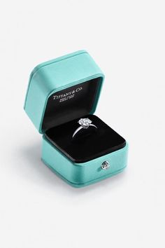 Introducing tiffany's diamond source initiative: a significant step for diamond transparency. in keeping with our commitment to responsible sourcing, Tiffany Jewelry, Tiffany E Co, Azul Tiffany, Tiffany Blue, Antique Engagement Rings, Antique Rings, Vintage Rings, Perfect Engagement Ring, Tiffany Engagement