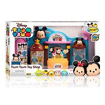 Buy Disney Tsum Tsum Squishy Figure Toy Shop Playset - free click & collect at the Entertainer stores and free home delivery on orders over Tsum Tsum Toys, Tsum Tsum Party, Disney Tsum Tsum, Figurine Disney, Casa Disney, Tsumtsum, Toys Uk, Best Kids Toys, Kawaii