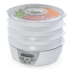 Presto 750-Watts Nonstick Six Tray Dehydro Digital Electric Foods Dehydrator NEW #Presto