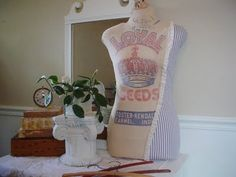 how to make a dress form