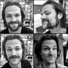 Getting Samified! #Spn #supernatural #spn11 #makeup #grooming @jarpad