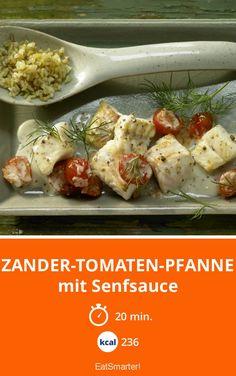 Zander-Tomaten-Pfanne