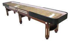 Berner Majestic 14 Shuffleboard Table - Walnut