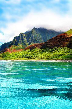 Napali - Kaui, Hawaii... Even more beautiful in person