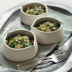 Warm Farro Salad with Herbs, *Leave out the chervil & tarragon More