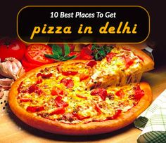 If your heart skips a beat over #Pizza, you are at the right place! Check out the best spots for pizza in Delhi  #foodies #wanderers #foodlovers #pizza #yummy #HappyEating