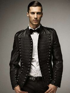 Military-Inspired Formal Attire