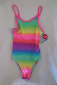 427bfdc425220 Girl The Children Place Swimming Suit Size M 7 8 Multi color Bright UPF 50  New. Children s PlaceSwimsuitSwimmingSwimSwatBathing SuitsSwimwearOne Piece  ...