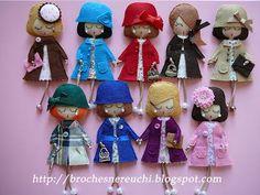 Брошки куколки — Мой кукольный мир
