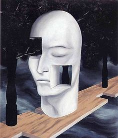 The face of genius, 1926, Rene Magritte