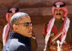 Il sito archeologico nabateo di Petra è stata l'ultima tappa in Medio Oriente del presidente americano Barack Obama   IL VIDEO