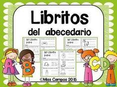 Libritos del abecedario (el alfabeto). Son 29 libritos para el repaso del abecedario y de los sonidos iniciales.