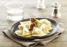 Recette Pâtes mezzelune bœuf, tomates confites, basilic et mascarpone | Herta - Le goût des choses simples