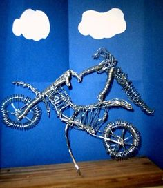 Artsonia Art Museum :: Artwork by Ryan390; wire sculpture