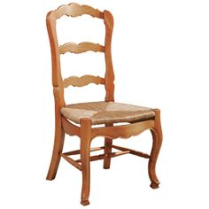 Country French Ladderback Side Chair(Pine) Furniture Classics Limited |  Furniture Classics Limited