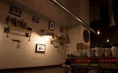 MARSHALL&CO Coffee&Drinks  #interiorismo #diseñodeinteriores #branding  #deco #restauracion #moustache