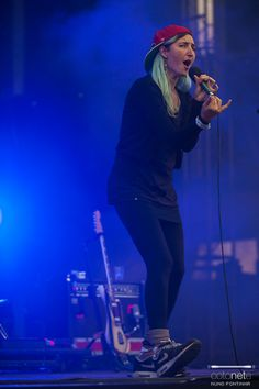 Warpaint Live at Nos Primavera Sound 2014. Photo by Nuno Fontina.