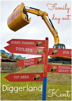 My review of our family day out at Diggerland Kent - one of four Diggerlands in the UK (with a fifth planned for Worcestershire), the theme park lets children (and adults) operate diggers, dumper trucks and other heavy machinery in a rather unexpected fun