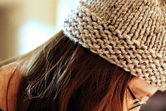 Love this knitted hat!