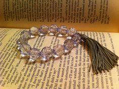 Crystal Crescent Beach Bracelet by ShortPresents on Etsy, $11.50